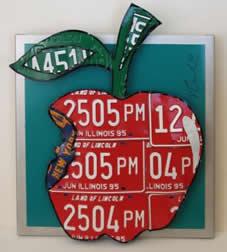 Michael Kalish license plate artist
