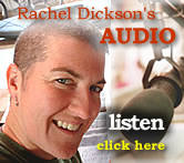 Listen to artist Rachel Dickson on her audio blog